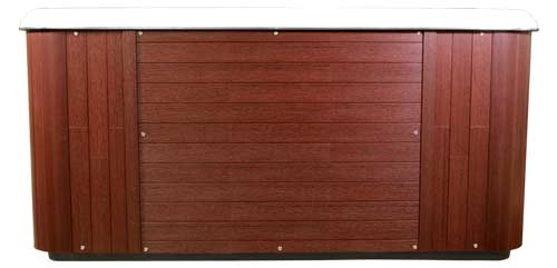 Arctic spas Red Wood cabinet