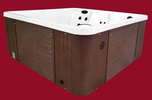 Side view of the Arctic Spas Hot Tub Grizzly model