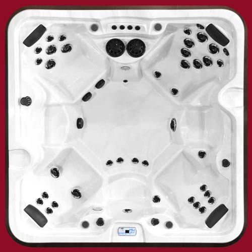 Top view of the Arctic Spas Hot Tub McKinley model