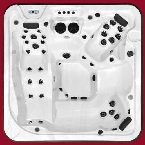 Top view of the Arctic Spas Hot Tub Mustang model