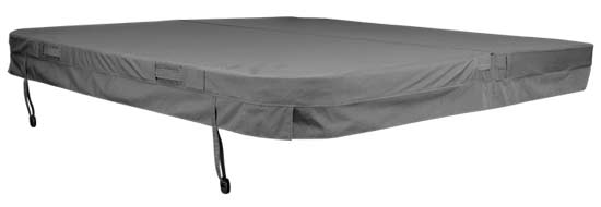 weathershield dark gray cover tub